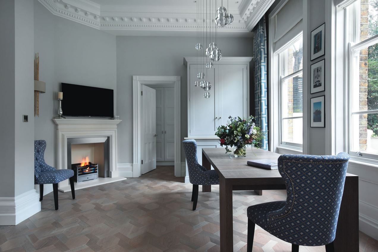 Mansion Weave in grey oak | Image courtesy of Element 7 Flooring