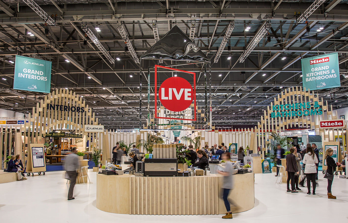 Grand Designs Live, Birmingham interior design scene