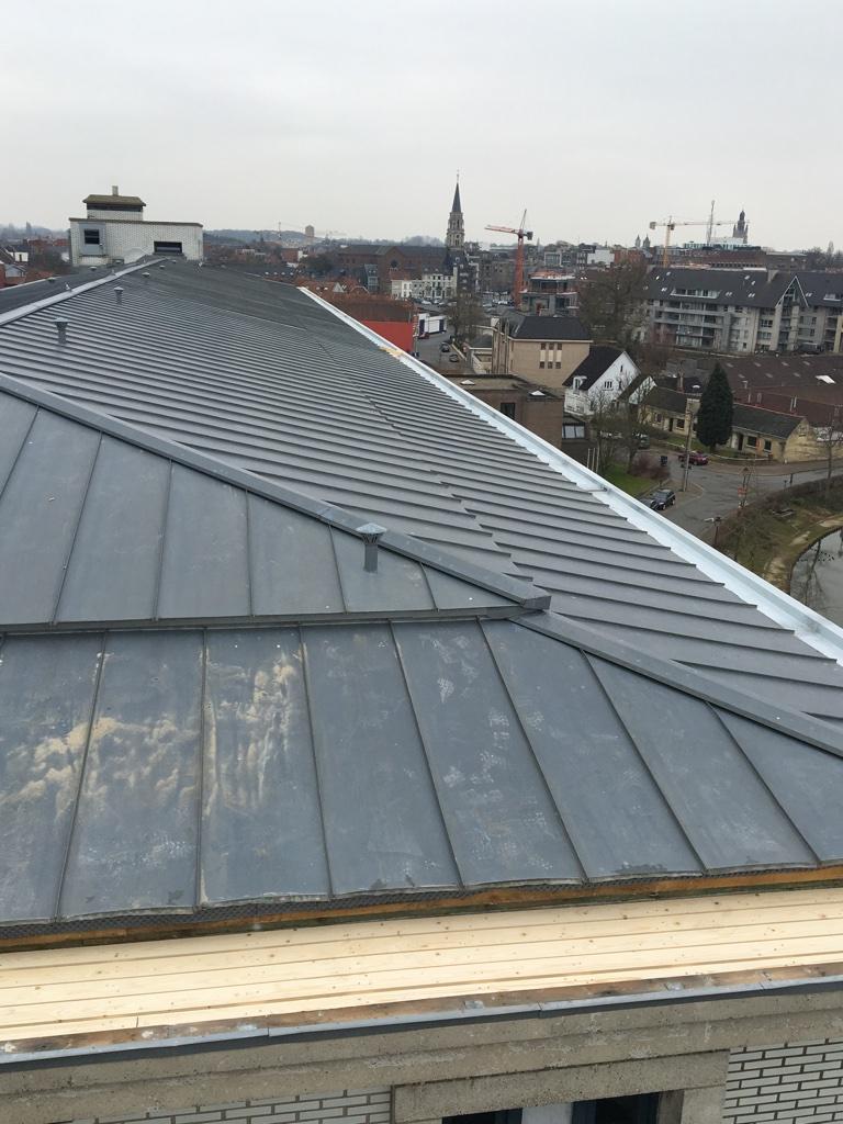 Vervangen zinken dakgoot West-Vlaanderen.jpg