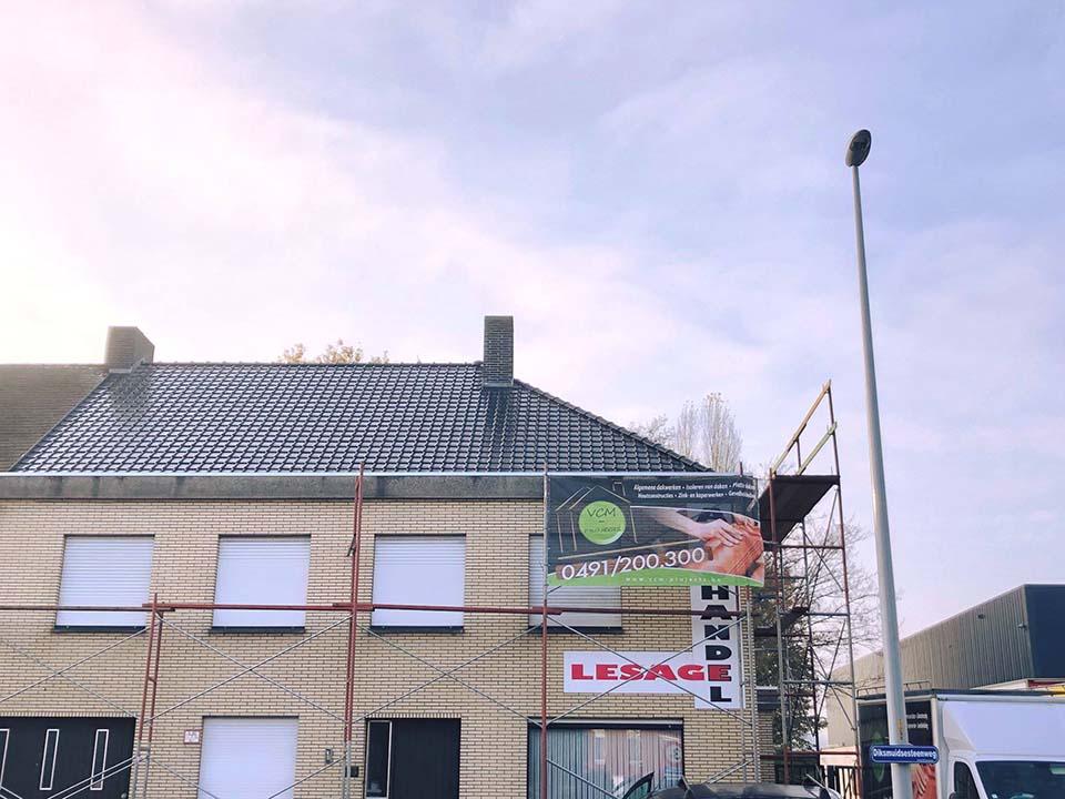 Vernieuwen dak Roeselare.jpg