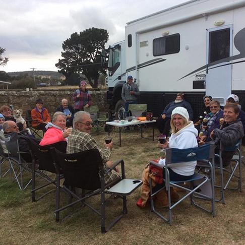 Oatlands TAS Gathering After Pontville Rally