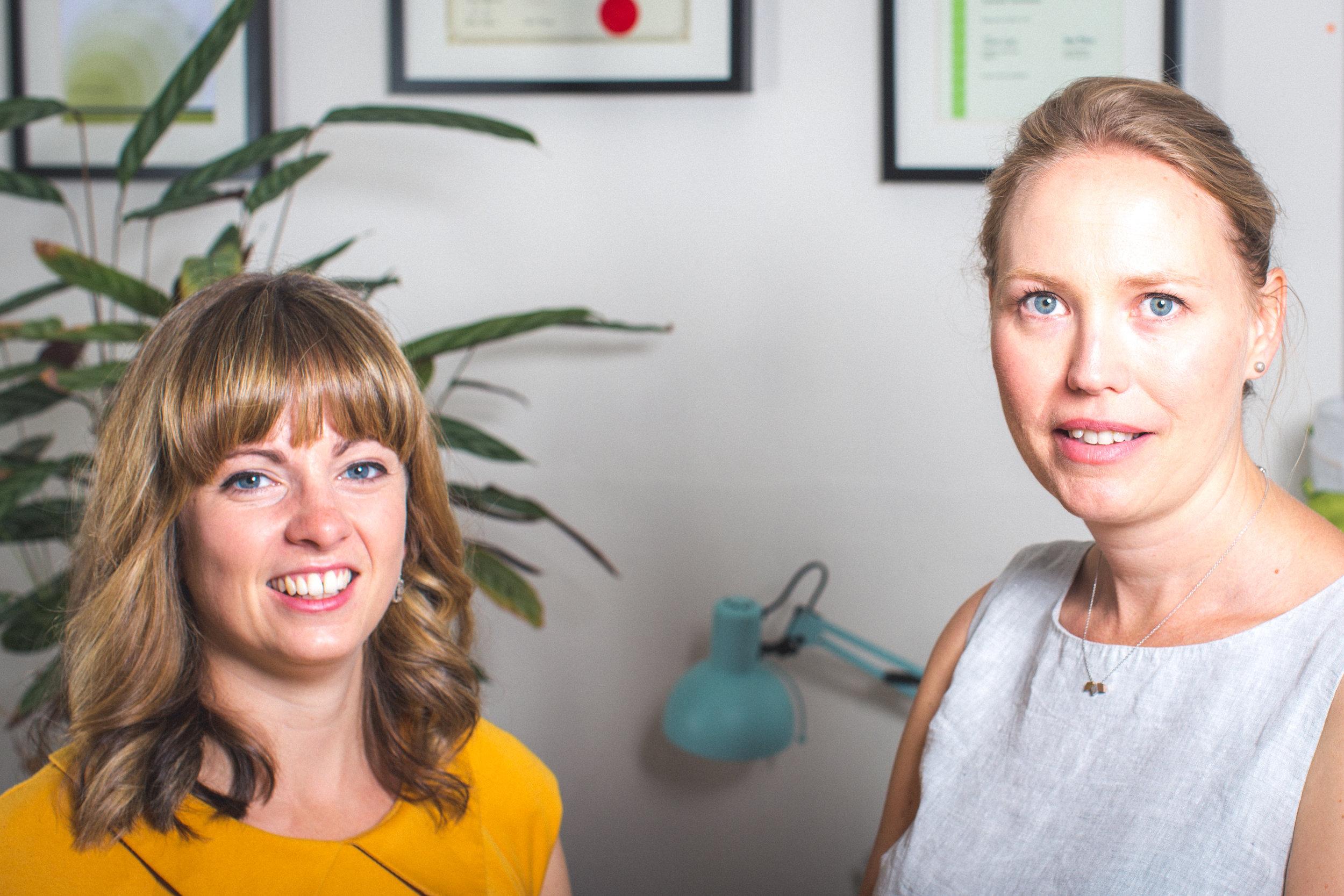 Aisling Cowan& Claire Clerkin -