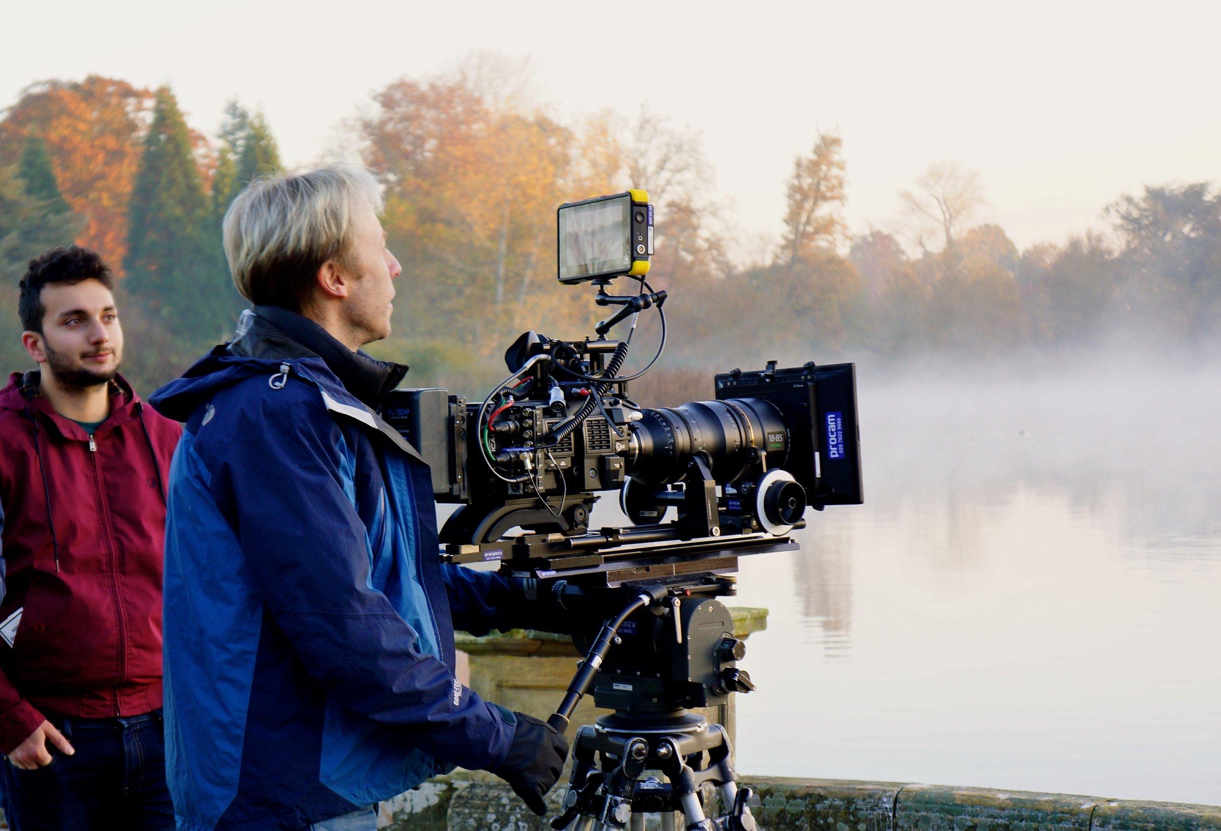 Shooting Hever Castle, Kent