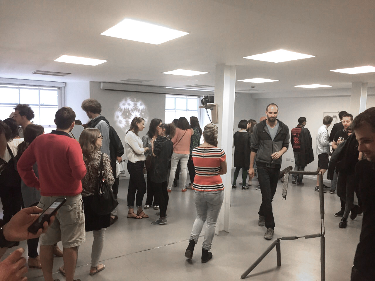 """Private View of the """"In Between"""" Show at Saatchi Gallery June 2014"""