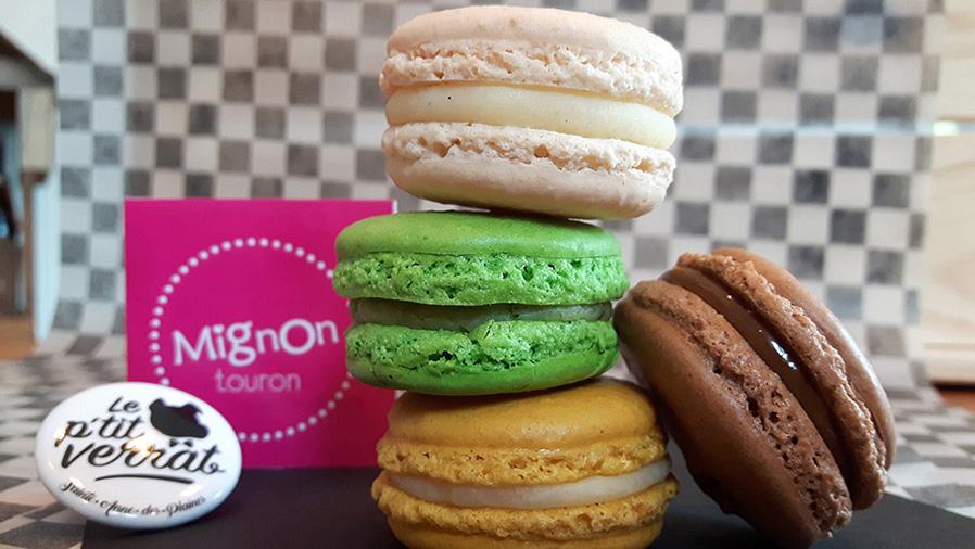 Mignon Touron, macaron, desserts, meringues,le p'tit verrat.