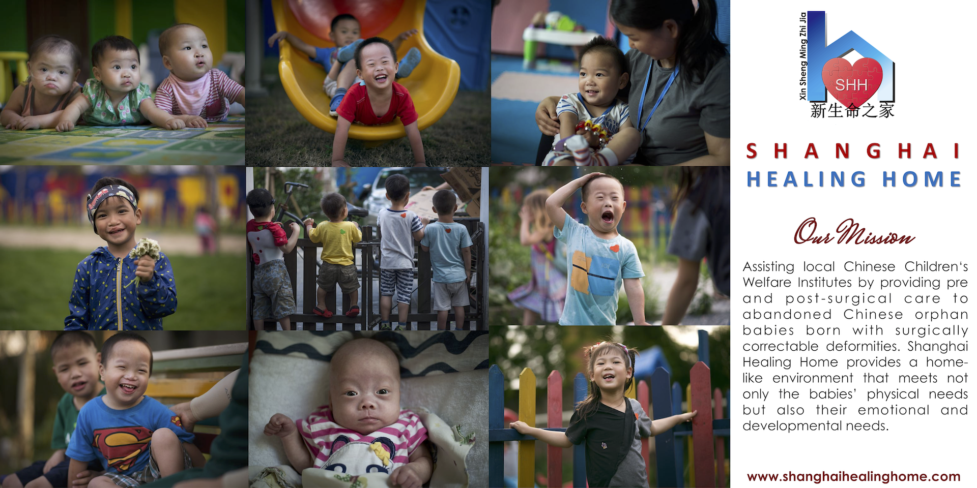 Shanghai Healing Home - a mission of REACH Community & Weidner Ministries