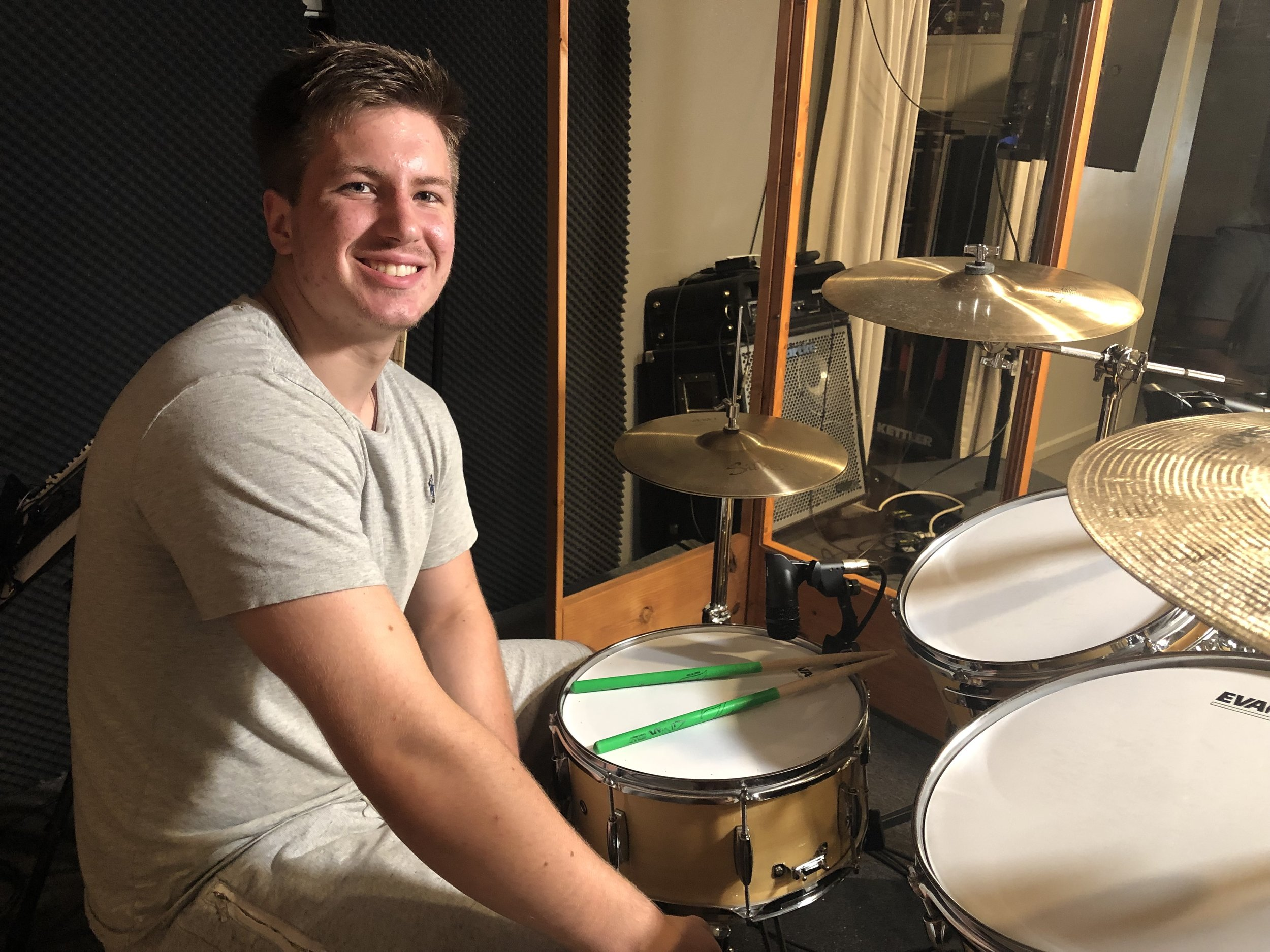 James Weidner IV - Student drum teacher and youth minister.