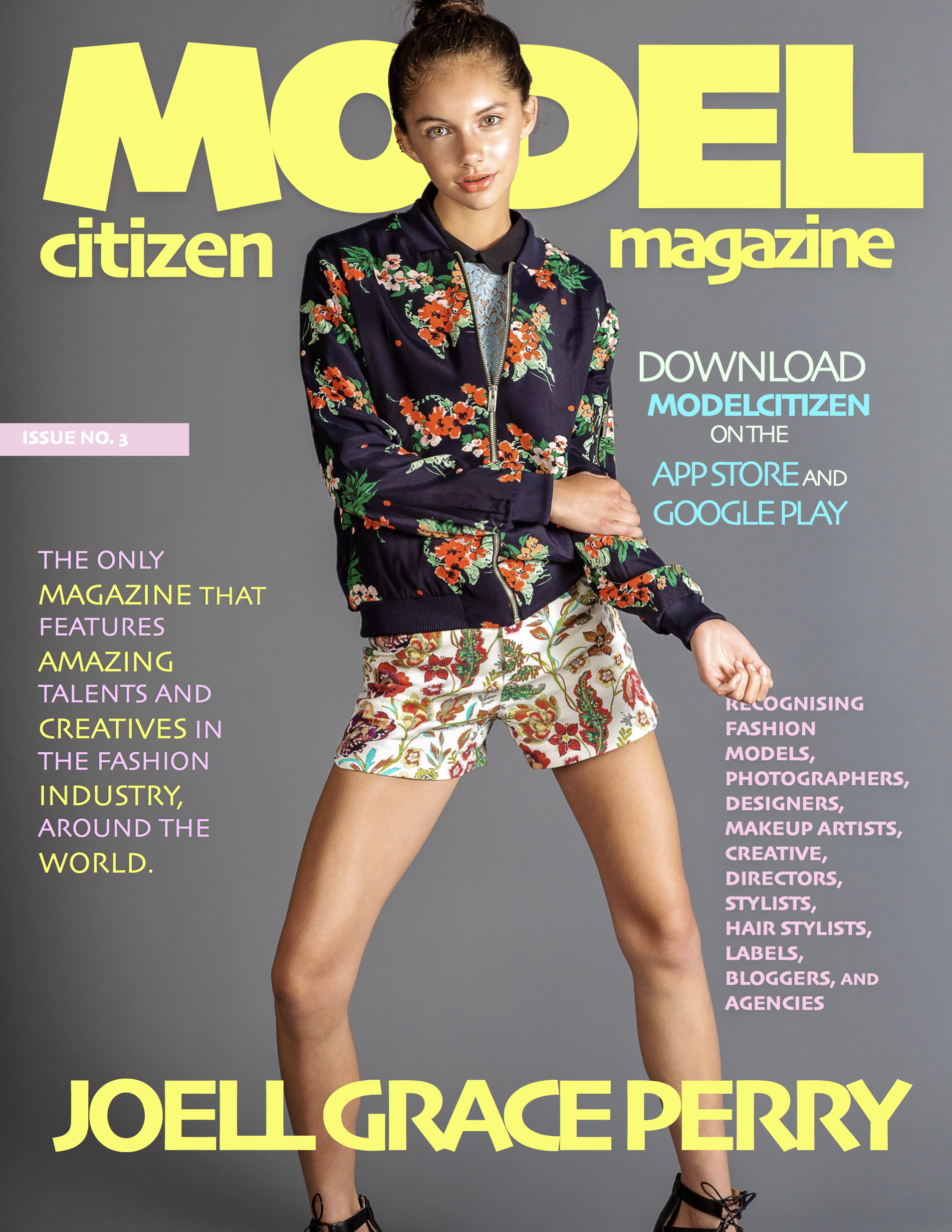 Joell Grace Perry, Model Citizen Magazine