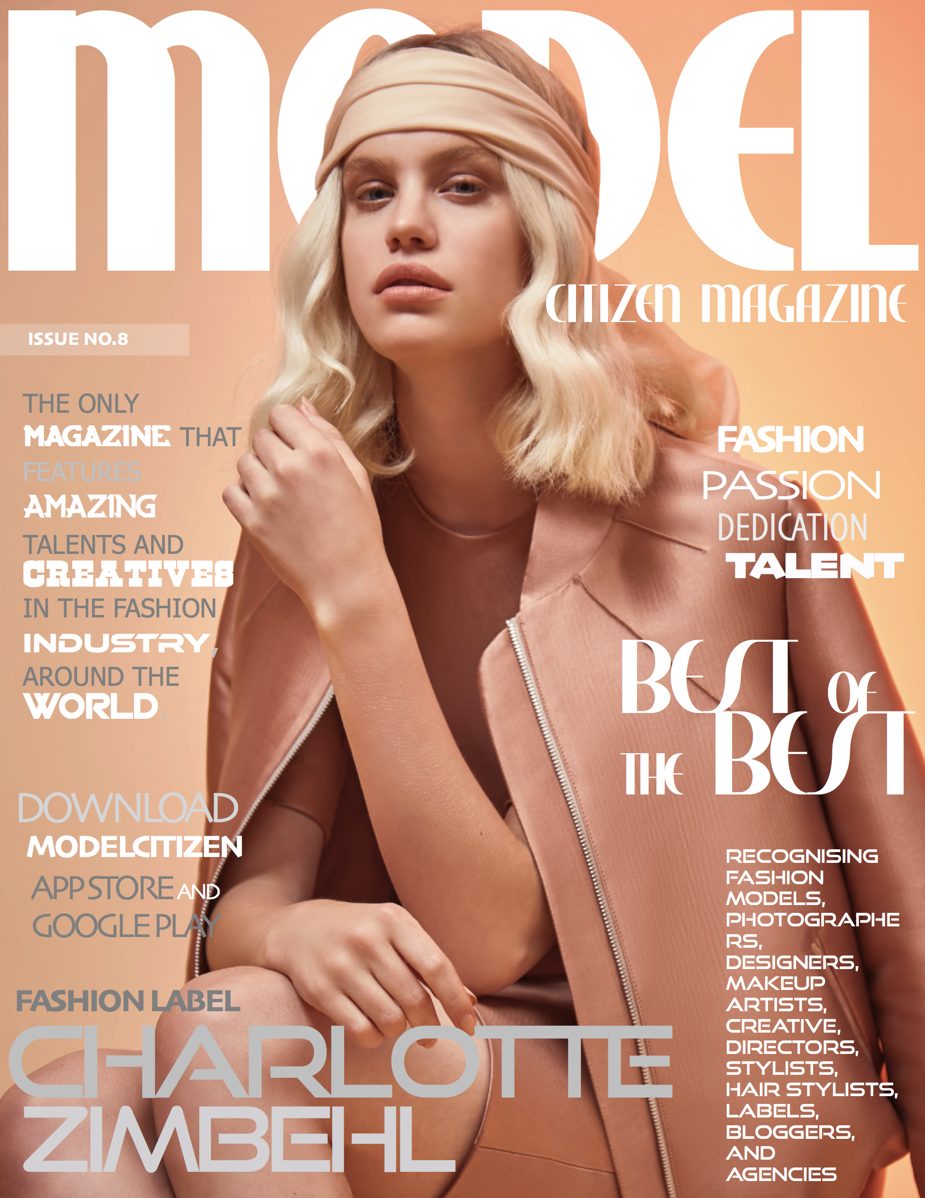Charlotte Zimbehl, Model Citizen Magazine