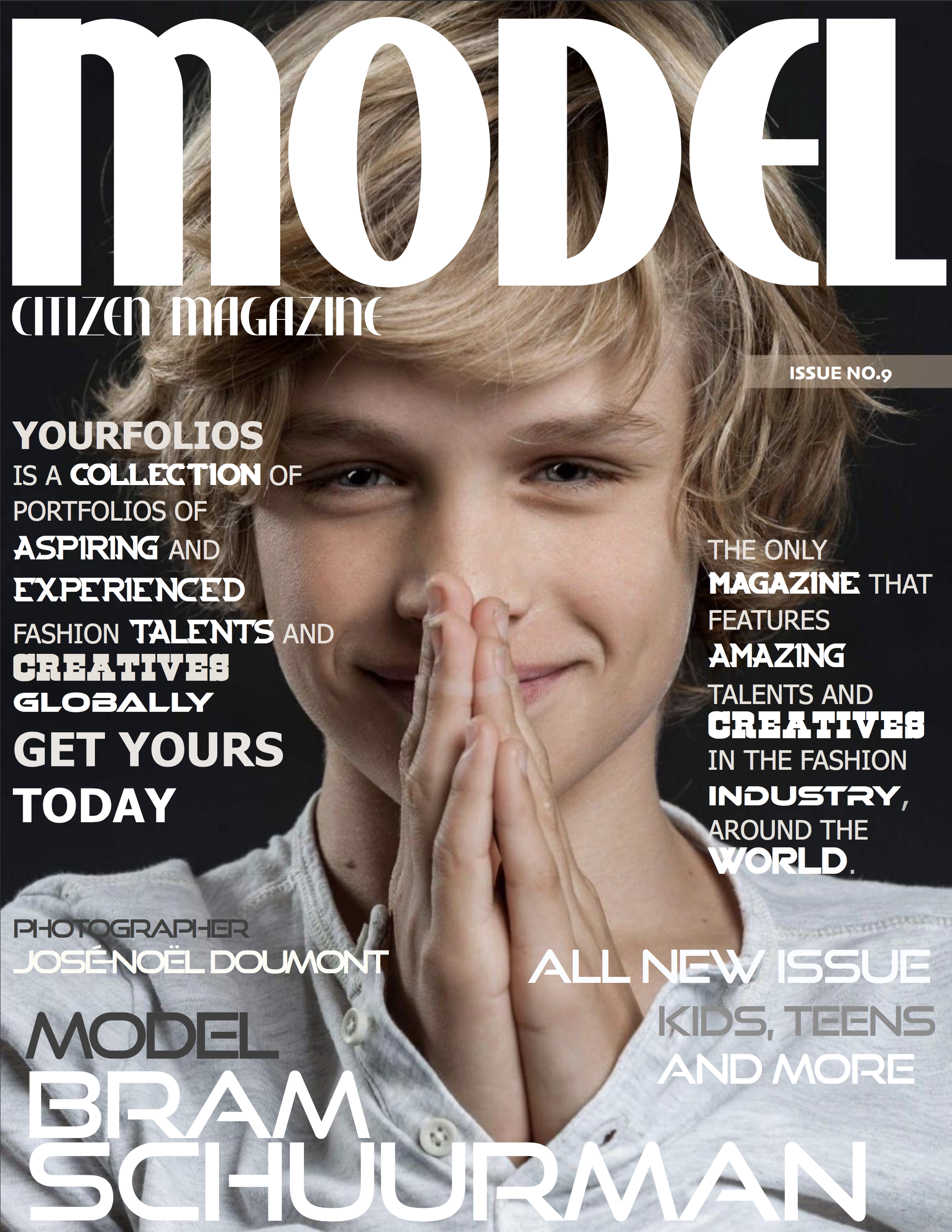Copy of Bram Schuurman, Model Citizen Magazine