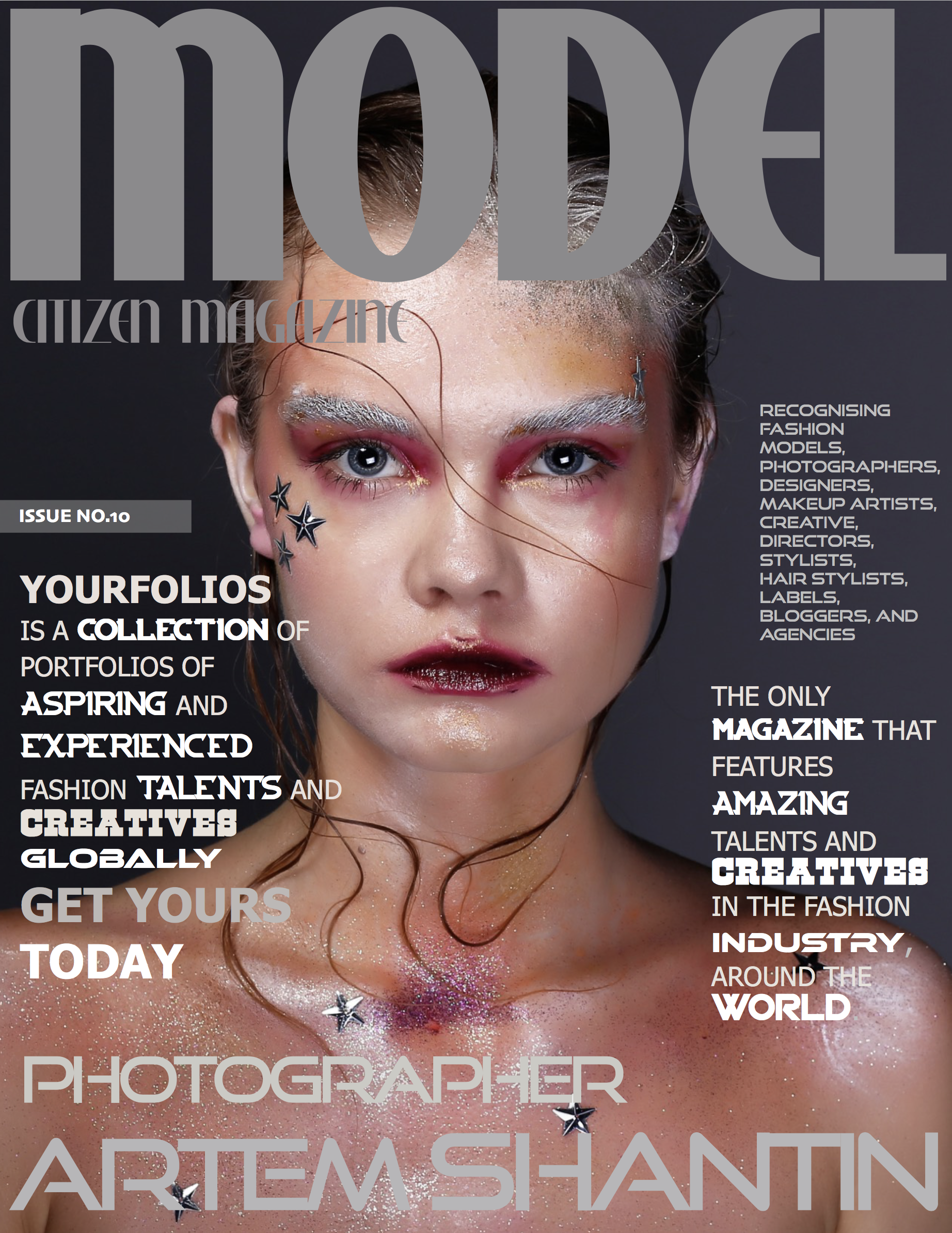 Copy of Recognizing fashion talents, brands and creatives globally. Be featured in Model Citizen Magazine, App and Blogs now.