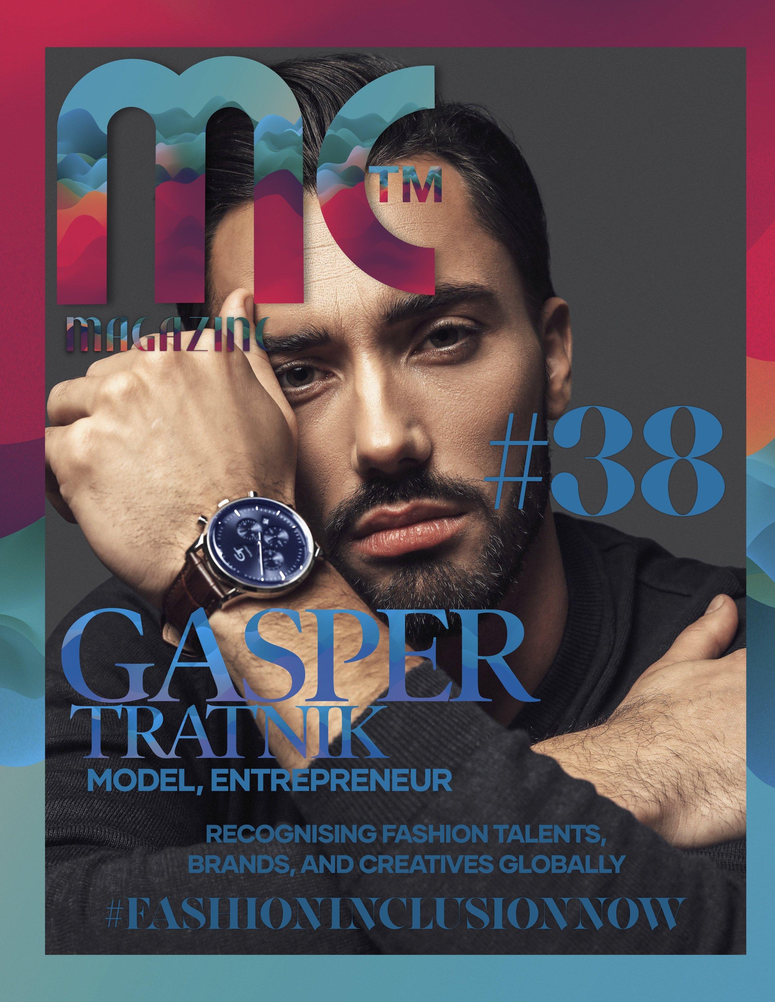 Model Citizen Magazine Issue 37, Cover Gasper Tratnik