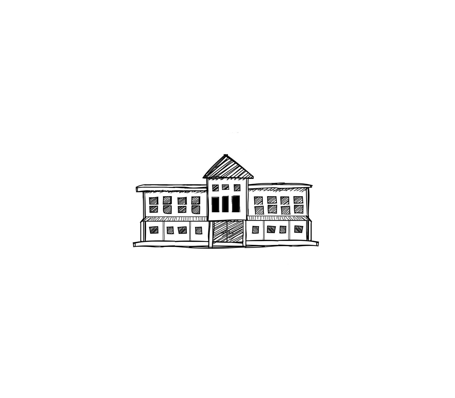 tiny building sketch
