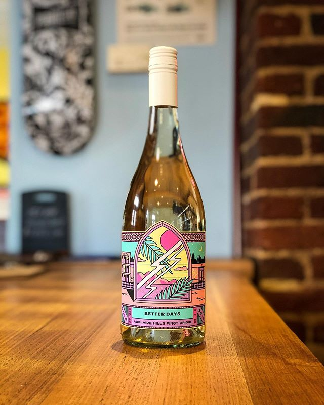 Brand new @hustleandvine Adelaide Hills Pinot Grigio has us thinking about Better Days, and Pete Murray's greatest song.
