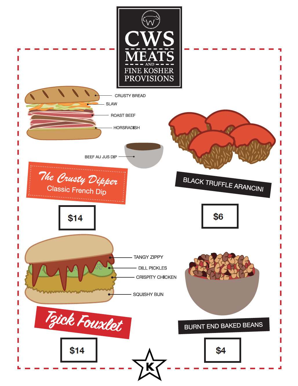 CWS menu 4/4