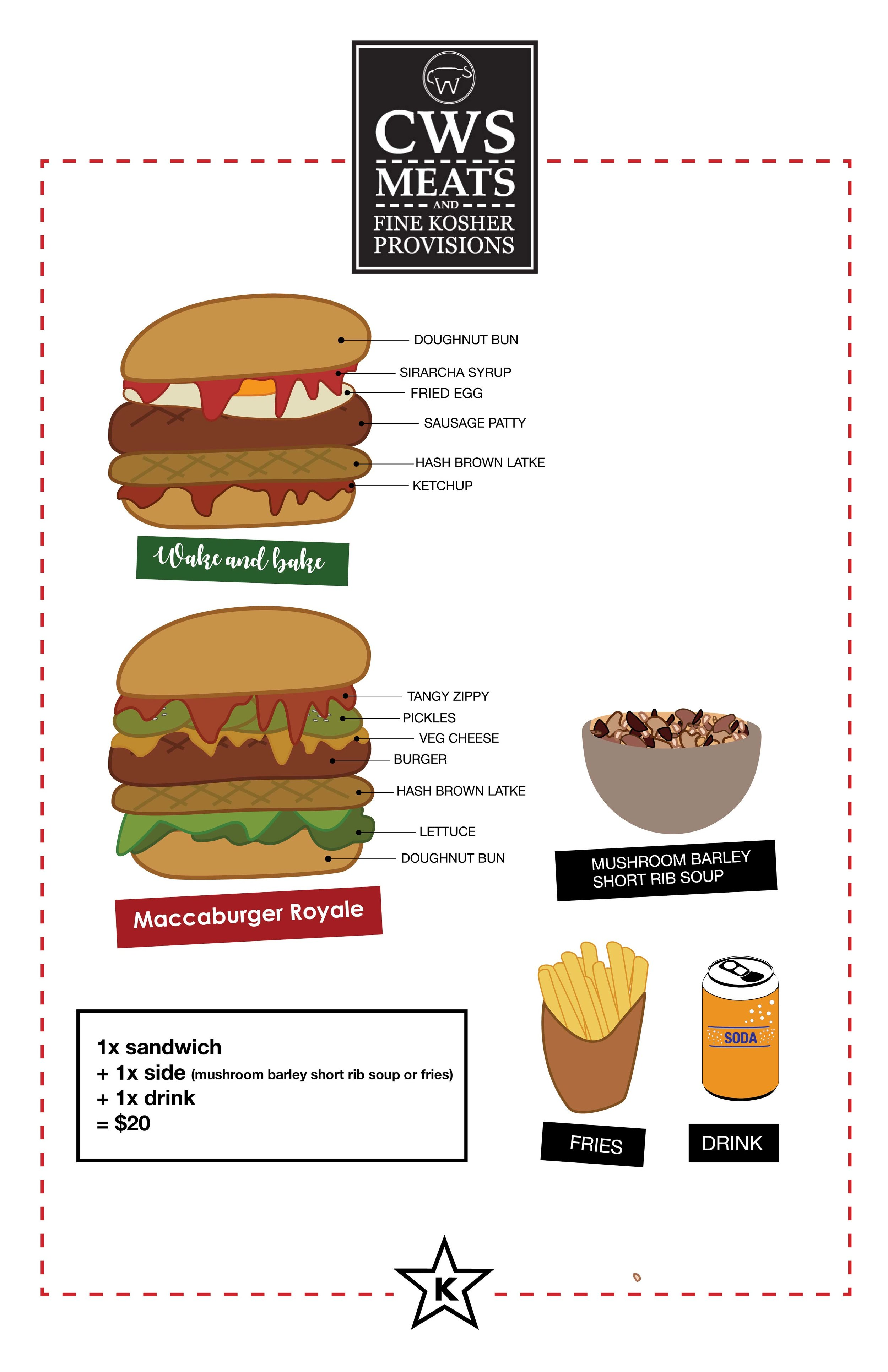 CWS menu 1/1