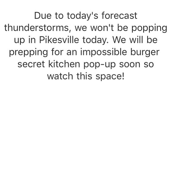 No pop-ups today.