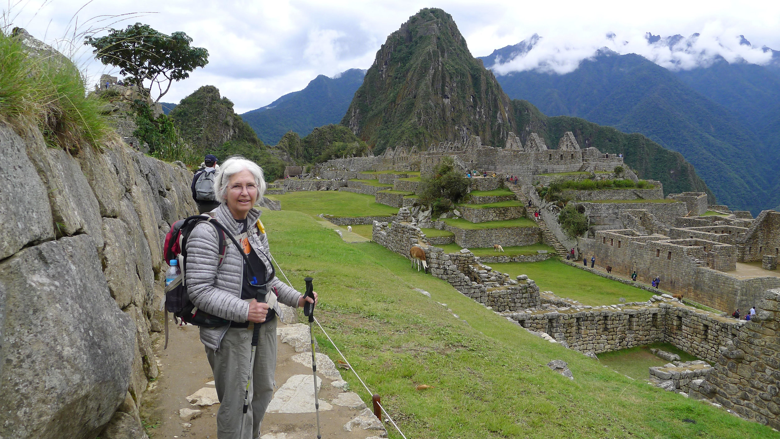 Heading Into Machu Picchu