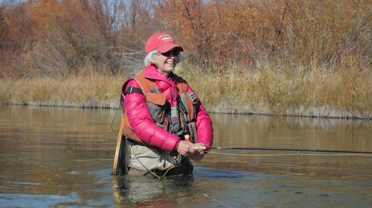 Fly Fishing In Silver Creek, Idaho