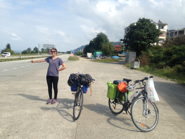 Why to cycle the whole silk road when you can hitch hike?