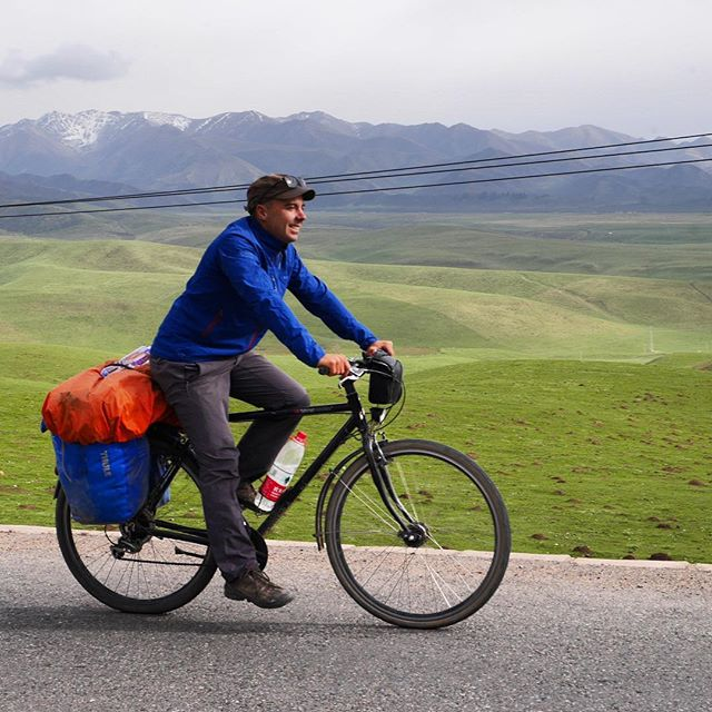 We're loving cycling on the Tibetan Plateau, where even the smallest roads have the smoothest tarmac we've ridden since Turkey and the green grasslands are filled with nomads and herds of yaks (our new favourite animals) . . . . . . . . . #worldbybike #bicycletouring #bikewander #pedalforever #tibetanplateau #bikelife #cyclinglife