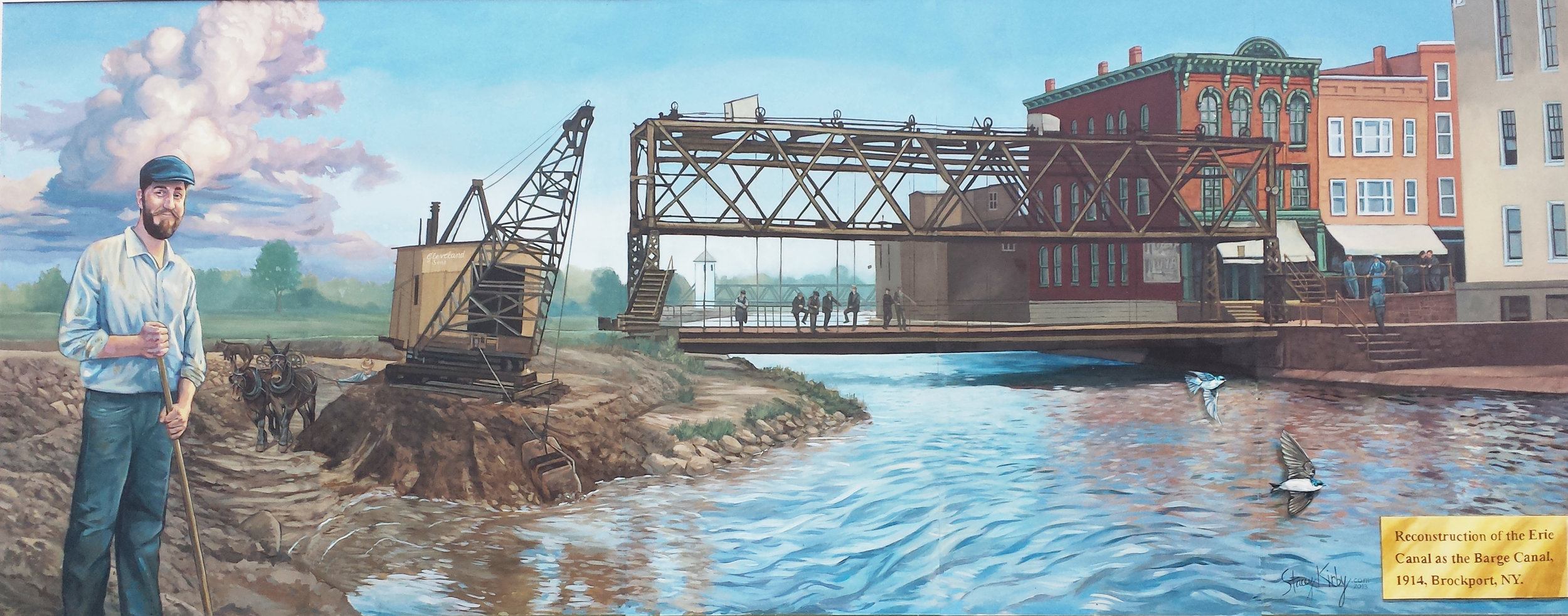 Expansion of the Erie Canal