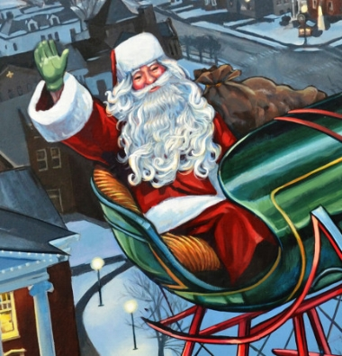 Santa's Closeup