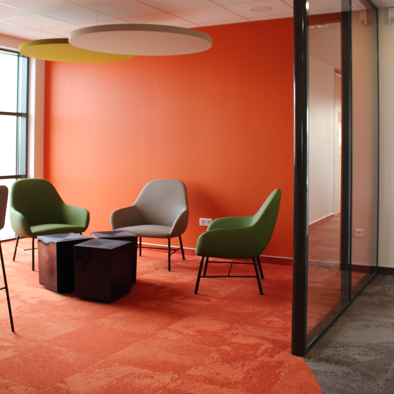 Création, aménagement et agencement de 1000 m² de bureaux pour le groupe PAREDES