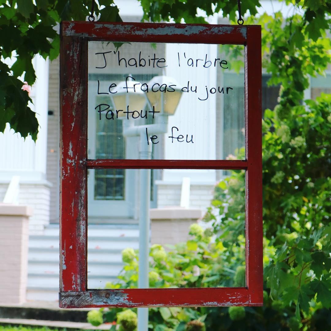 LES FENÊTRES QUI PARLENT - Jumelage de citoyens et d'artistesInitiative de Sophie Chabot et Linda Vachon dans le cadre des Journées de la cultureLes 28, 29 et 30 septembre 2018 sur la rue St-Zéphirin, à Victoriaville
