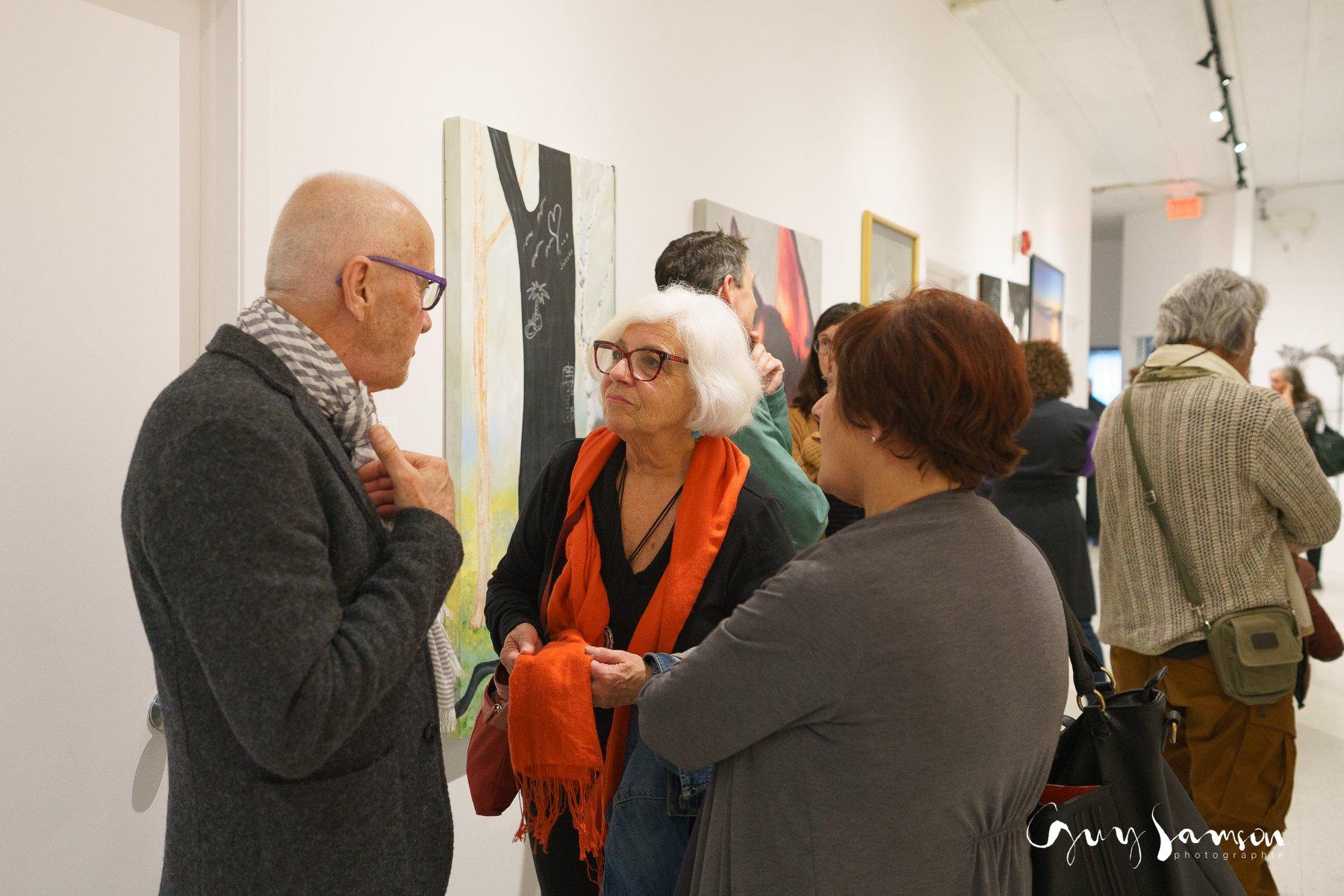 Vernissage dans le Lagon - Deuxième exposition dans la galerie des membres - mai 2019