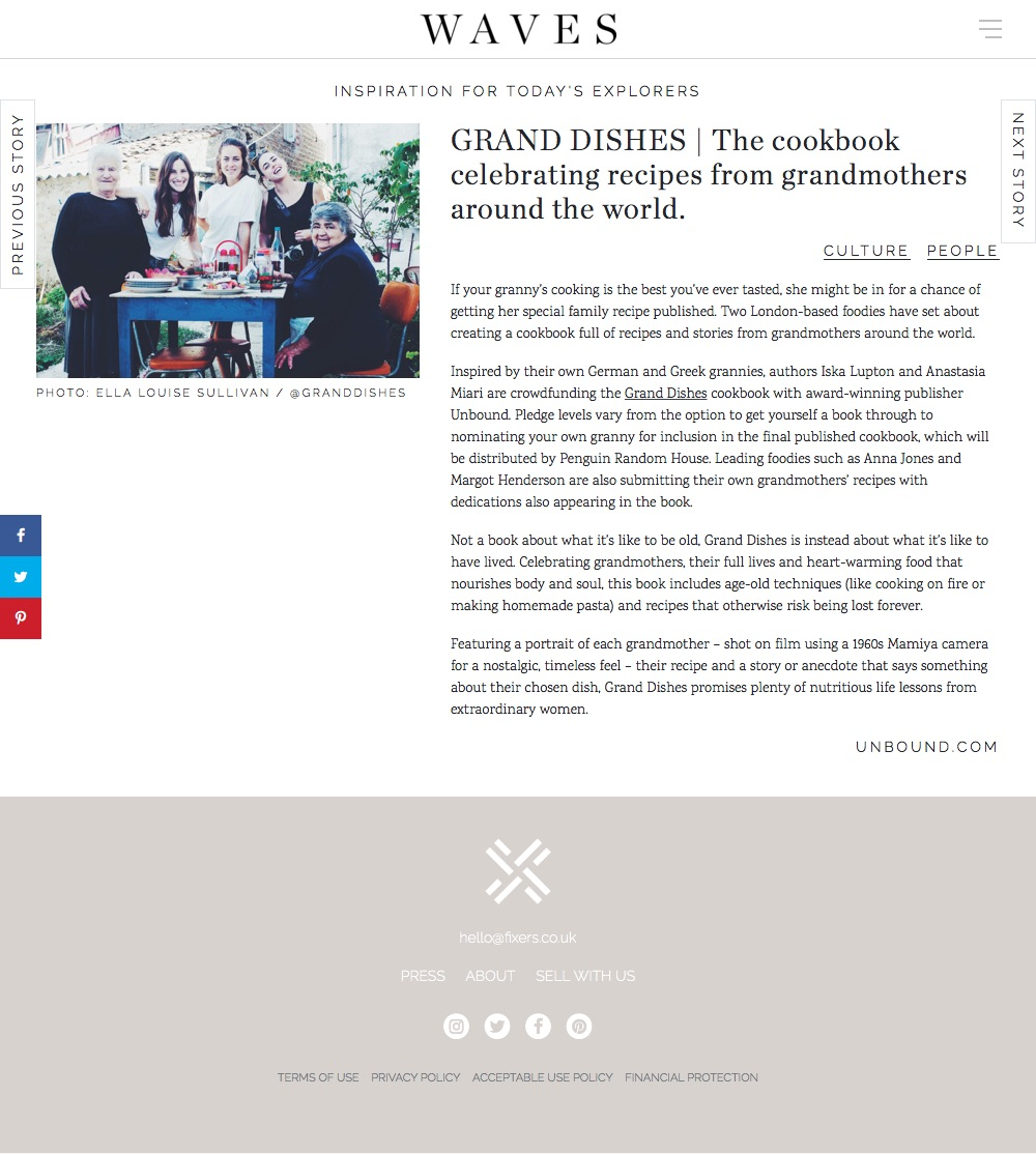 GRAND DISHES | The cookbook celebrating recipes from grandmothers around the world. – WAVES (20180502).jpg