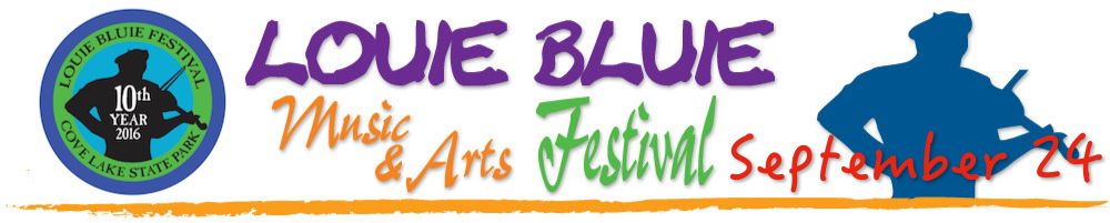 "Louie Bluie Festival  Careyville, TN  September  The Louie Bluie Music and Arts Festival is a project of the Campbell Culture Coalition, a nonprofit arts agency. It's named in honor of Howard ""Louie Bluie"" Armstrong (1909-2003), the internationally acclaimed string band musician who grew up in LaFollette in the 1920s and became one of the nation's finest string band musicians, as well as artist, storyteller, and writer."