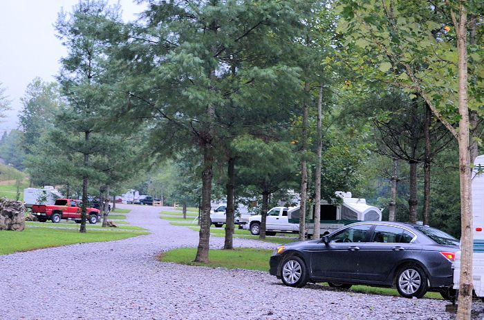 Mountain Pass Campground, Harrogate, TN
