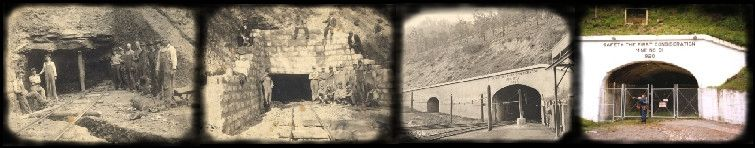 Mine Portal 31  Kentucky's first exhibition coal mine.   Located in Harlan County,  Lynch, Kentucky