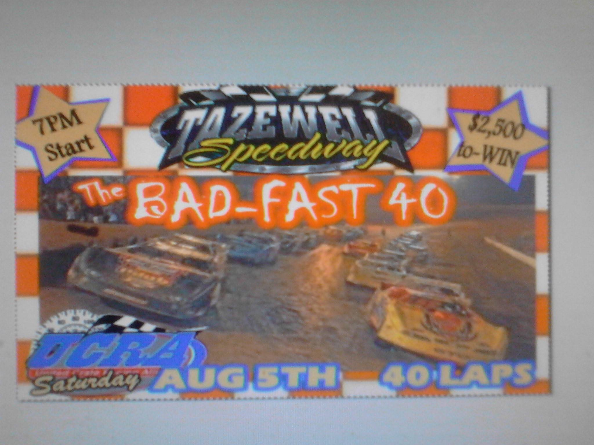 Tazewell Speedway   1400 Bacchus Rd, Tazewell, Tennessee 37879