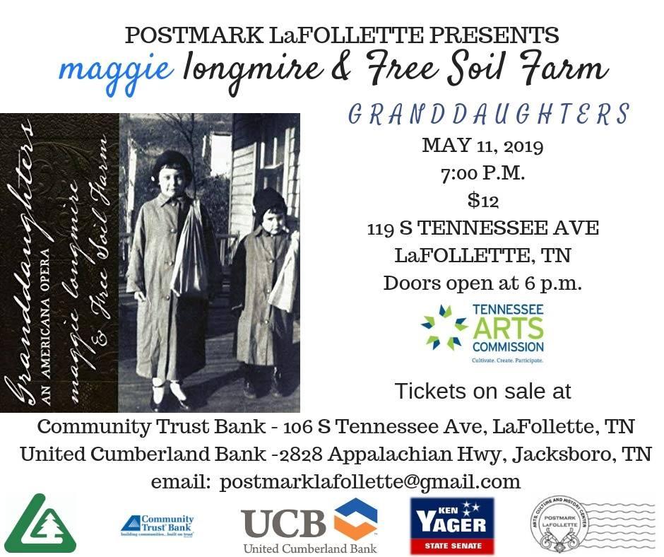 Postmark LaFollette  119 S Tennessee Ave, La Follette, Tennessee 37766