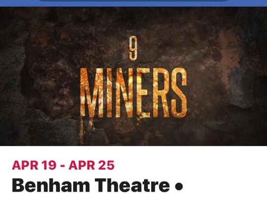 If you have not seen this movie yet,its not to late!    Playing through Thursday April 25th at the Benham Theater, Benham KY.#🍿minenine
