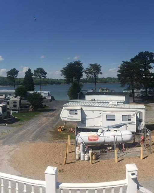 Fancher's Campground and Cabin Rentals  Dandridge, TN