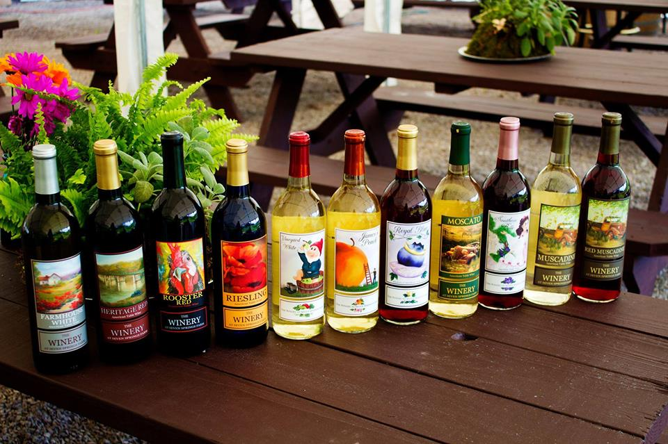 The Winery at Seven Springs Farm  1474 Highway 61 E, Maynardville, Tennessee 37807
