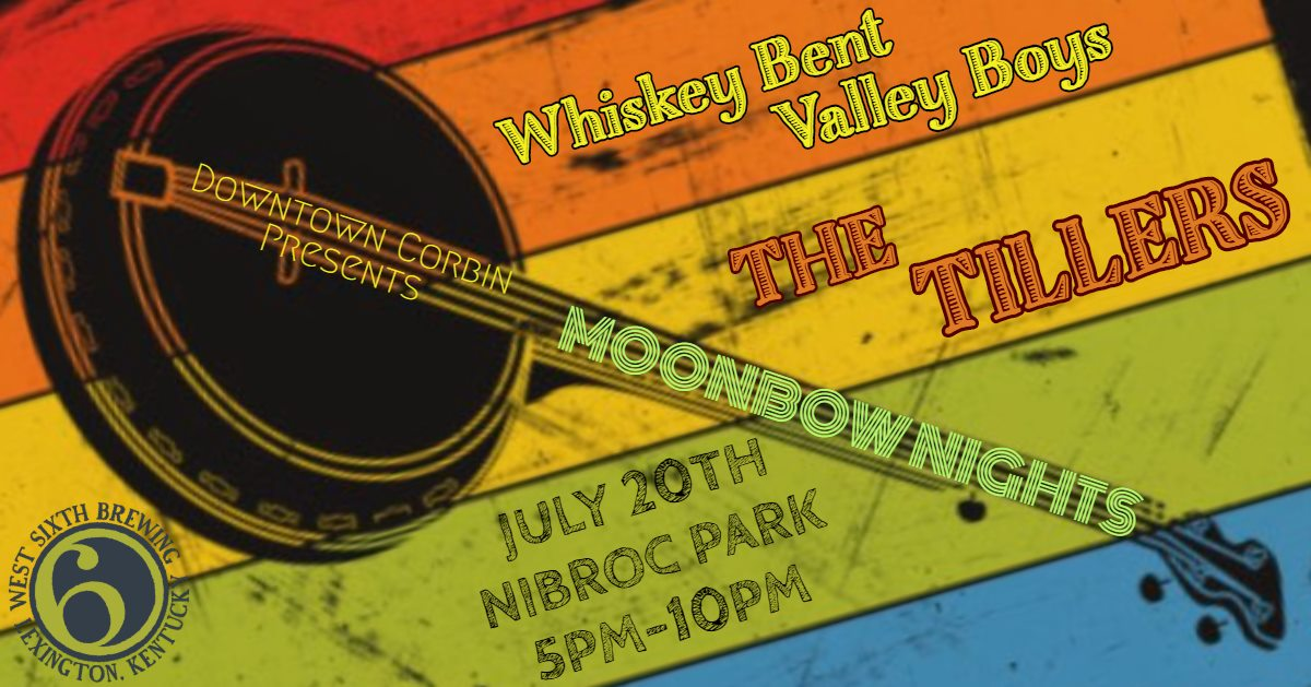 We got some good pickin' happening here on July 20th in NIBROC Park with the Whiskey Bent Valley Boys opening the night and The Tillers headlining. Come out and enjoy some great bluegrass music! West Sixth Brewing and a variety of food vendors will be on site! Remember, drink responsibly, and do not take any alcohol outside of the park premises.