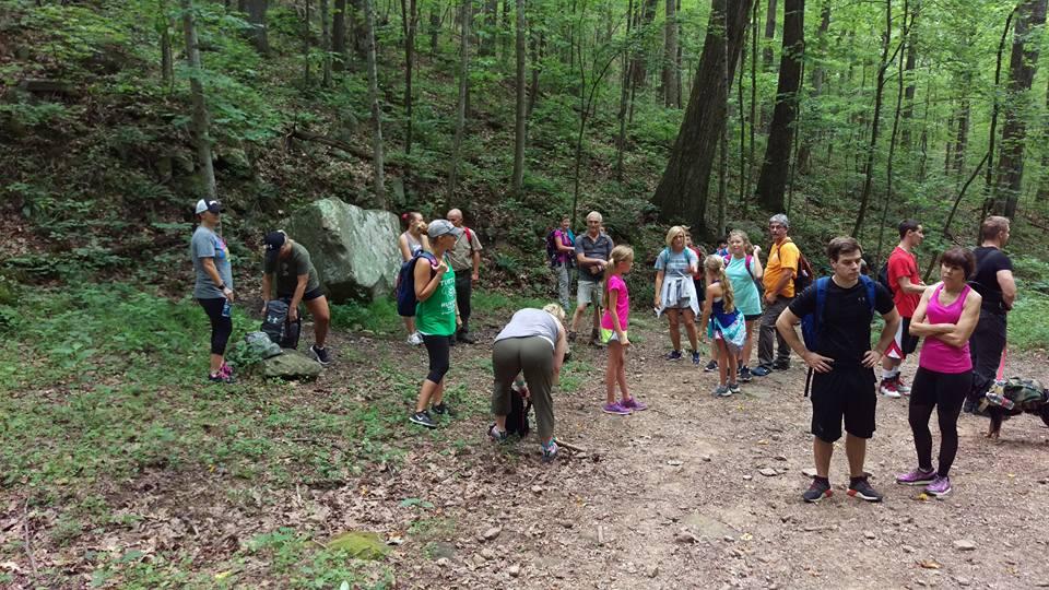 Sugar Run Picnic and Parking Area in Cumberland Gap National Historical Park
