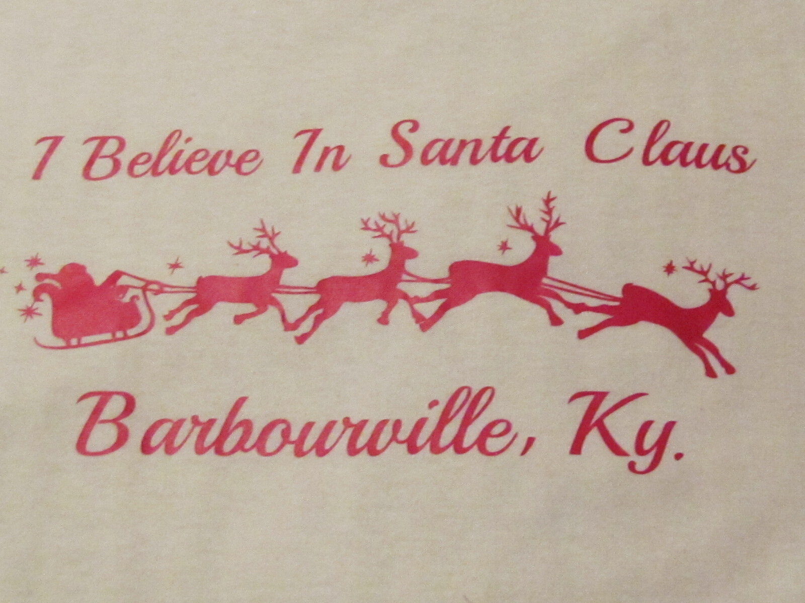 The I Believe In Santa Claus Christmas parade takes place on the first Saturday in December at 6:00 p.m. in Barbourville, KY.