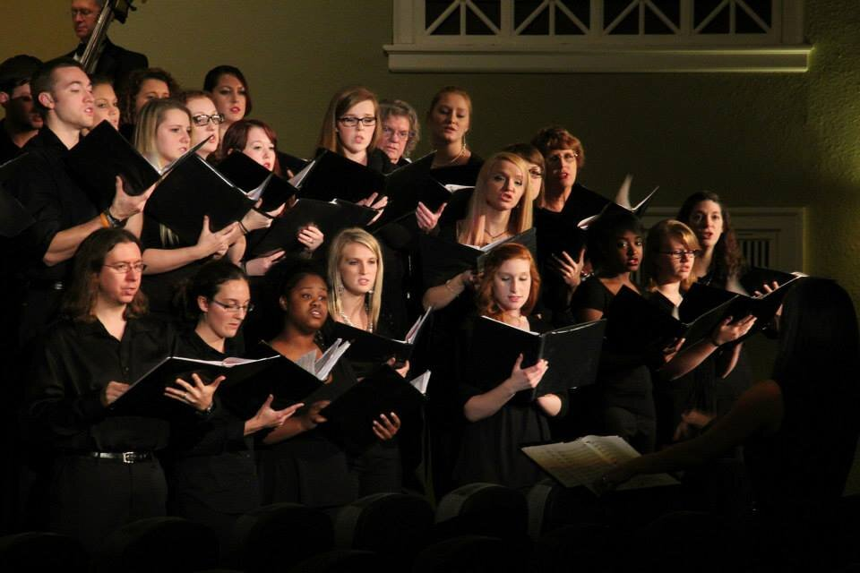 Fall semester performance by the LMU Choirs!  Duke Hall LMU  Harrogate, Tennessee 37724
