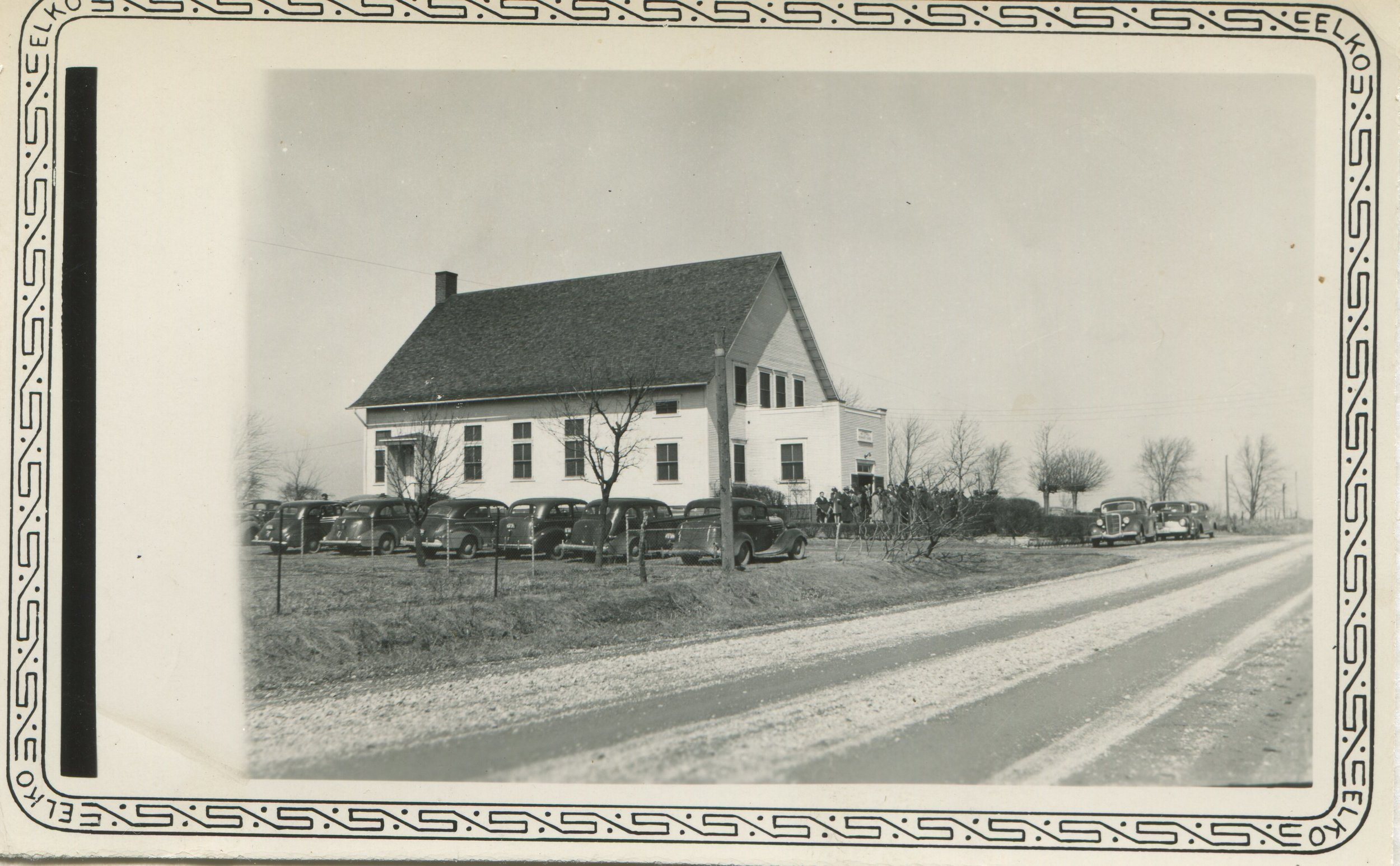 Metamora Mennonite, about 1938