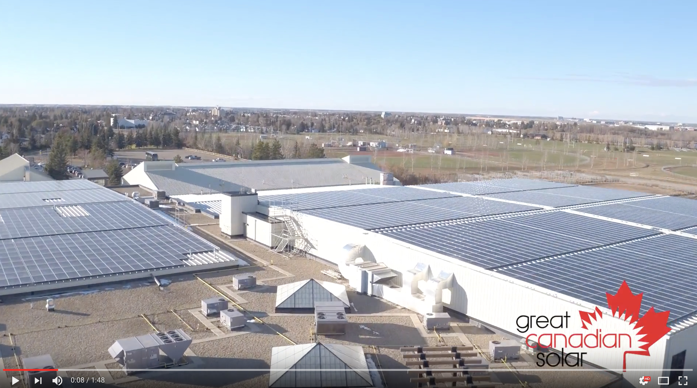 Great Canadian Solar Brand Video