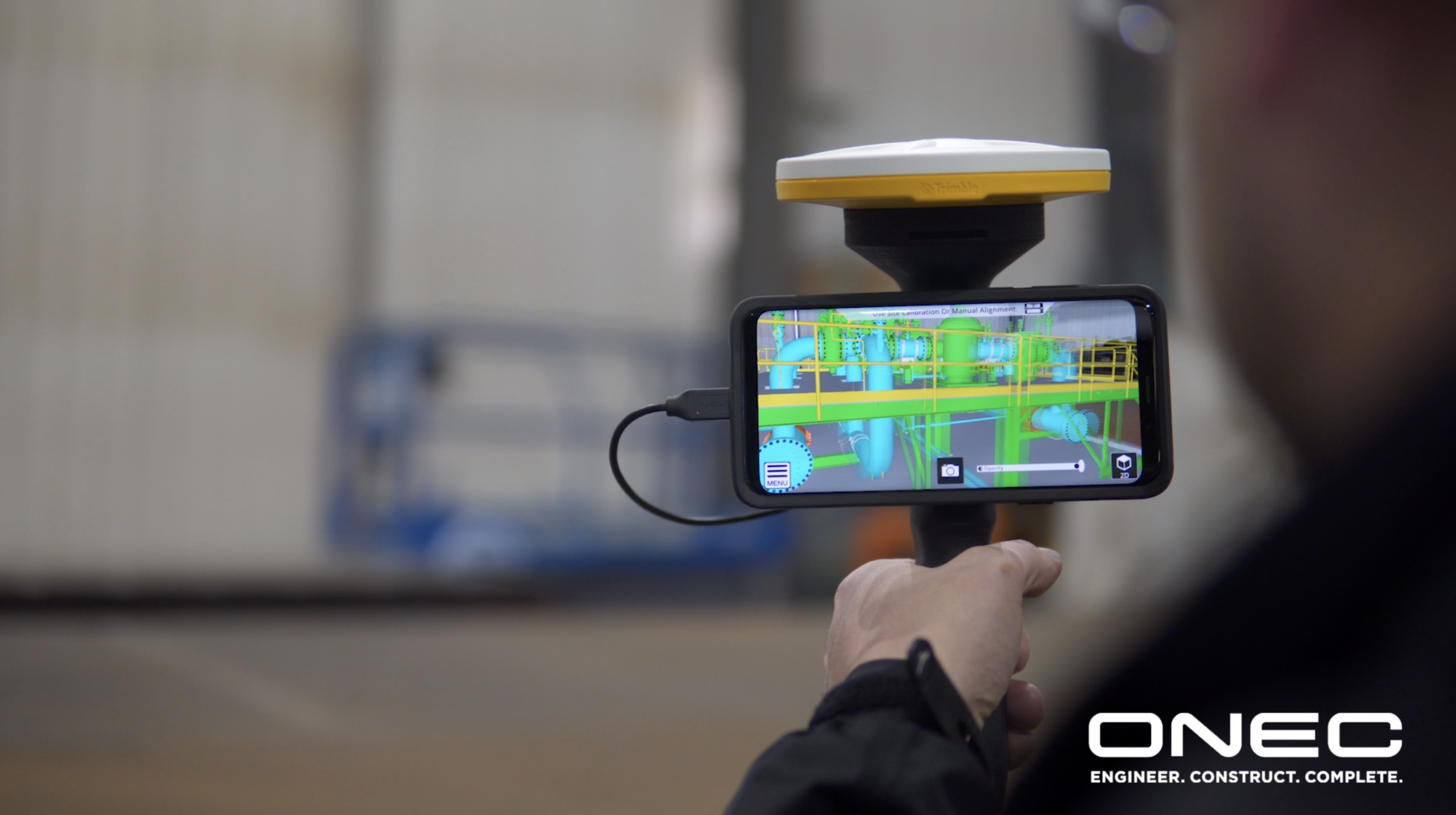 ONEC partners with Trimble SiteVision