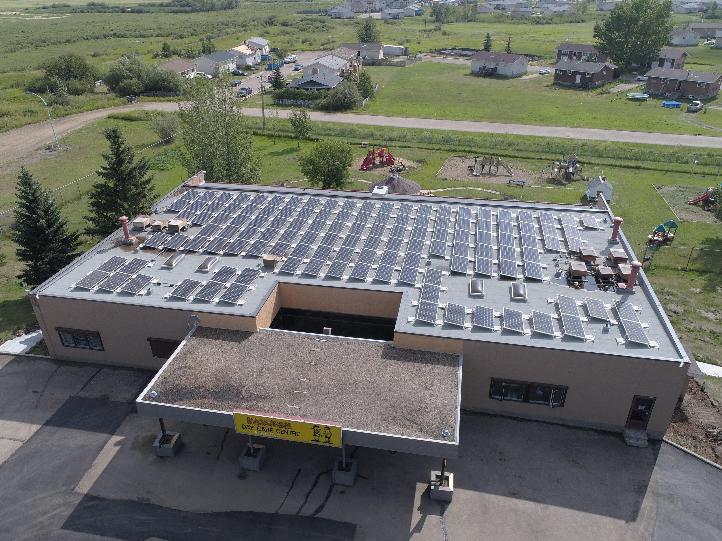 Samson Cree Nation Embraces Solar Energy