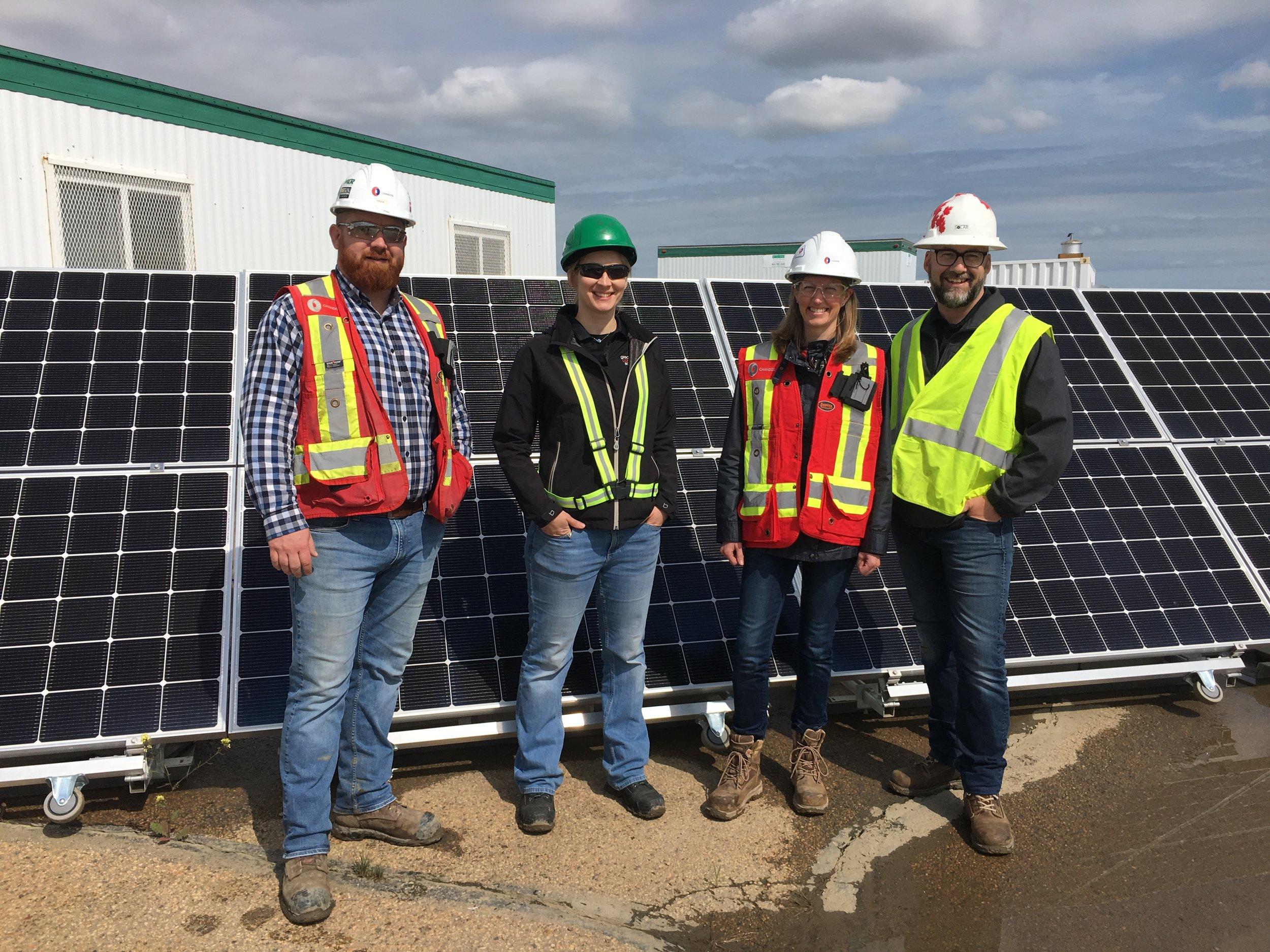Chandos - Blatchford Solar-Powered Site Offices