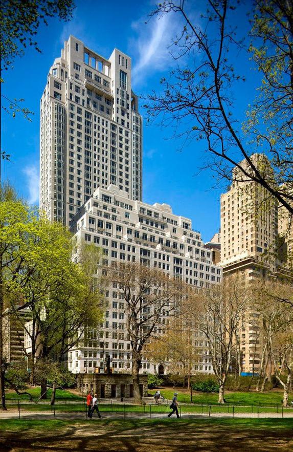 1 - 15 Central Park WestDeveloper: Zeckendorf DevelopmentAverage ppsf: $6,045Number of sales: 8