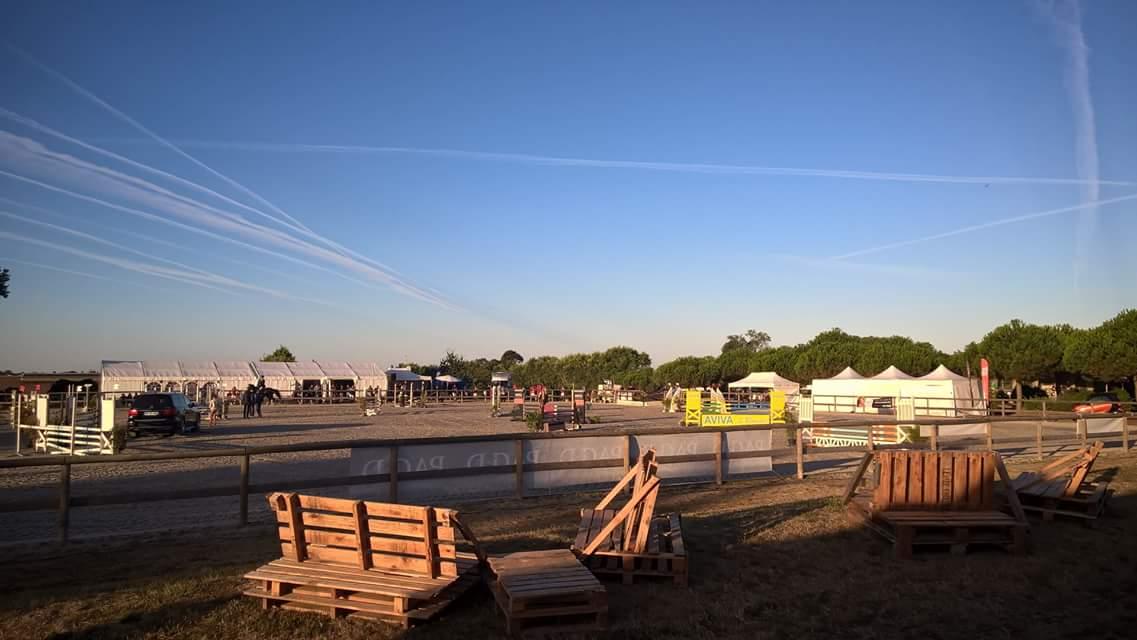 Une météo idéale sur la piste de Saint Gervais pendant les trois jours de concours où se sont succédés les cavaliers du matin au soir